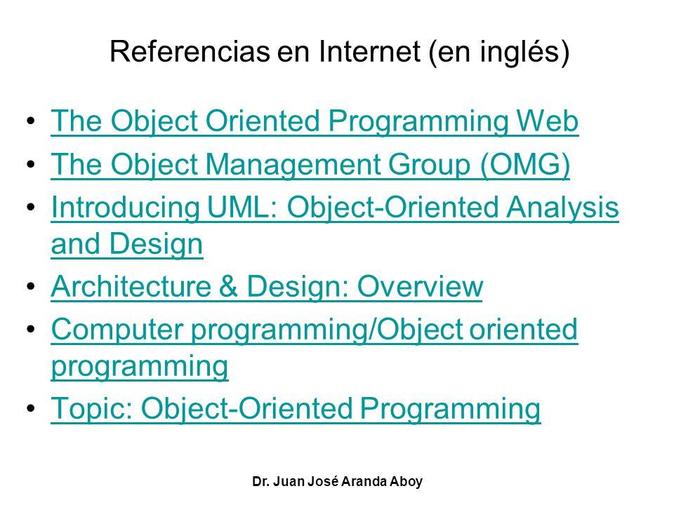 Referencias en Internet (en inglés)