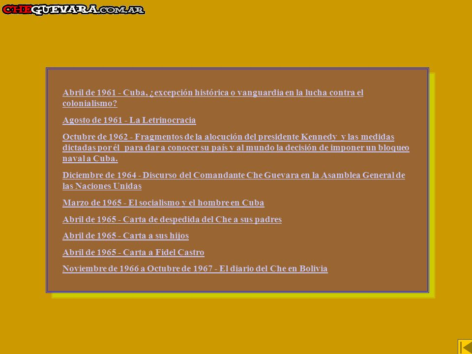 Abril de 1961 - Cuba, ¿excepción histórica o vanguardia en la lucha contra el colonialismo