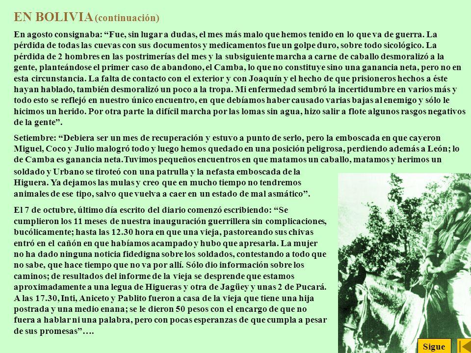 EN BOLIVIA (continuación)