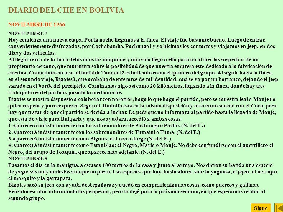 DIARIO DEL CHE EN BOLIVIA