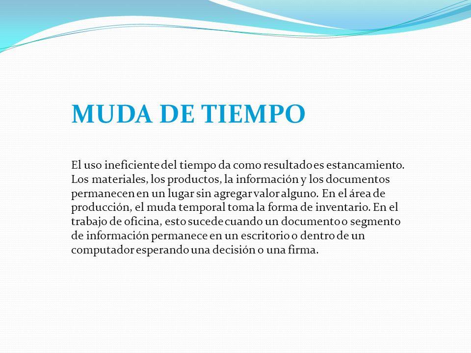 MUDA DE TIEMPO