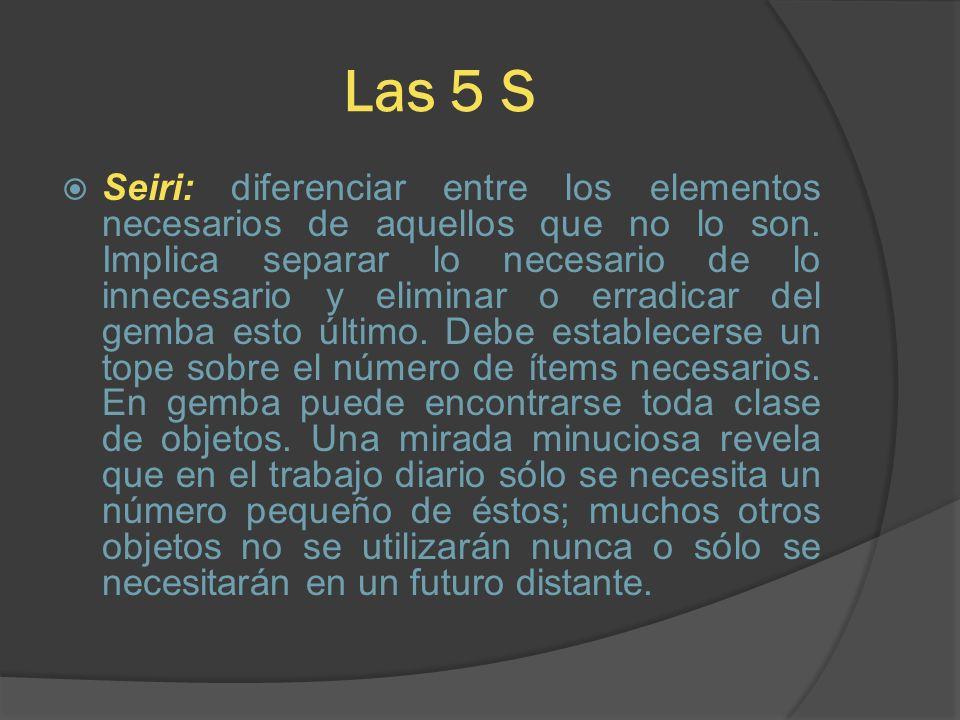 Las 5 S