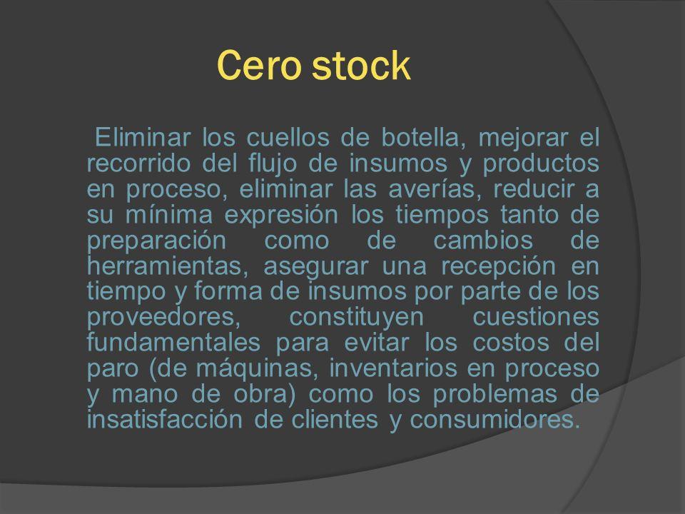 Cero stock