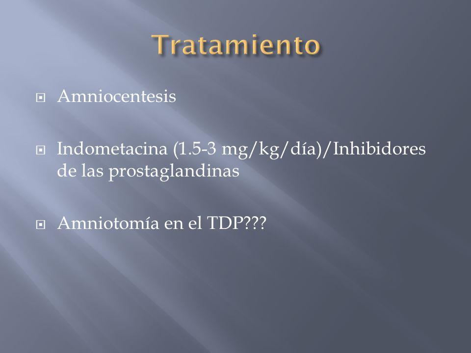 Tratamiento Amniocentesis