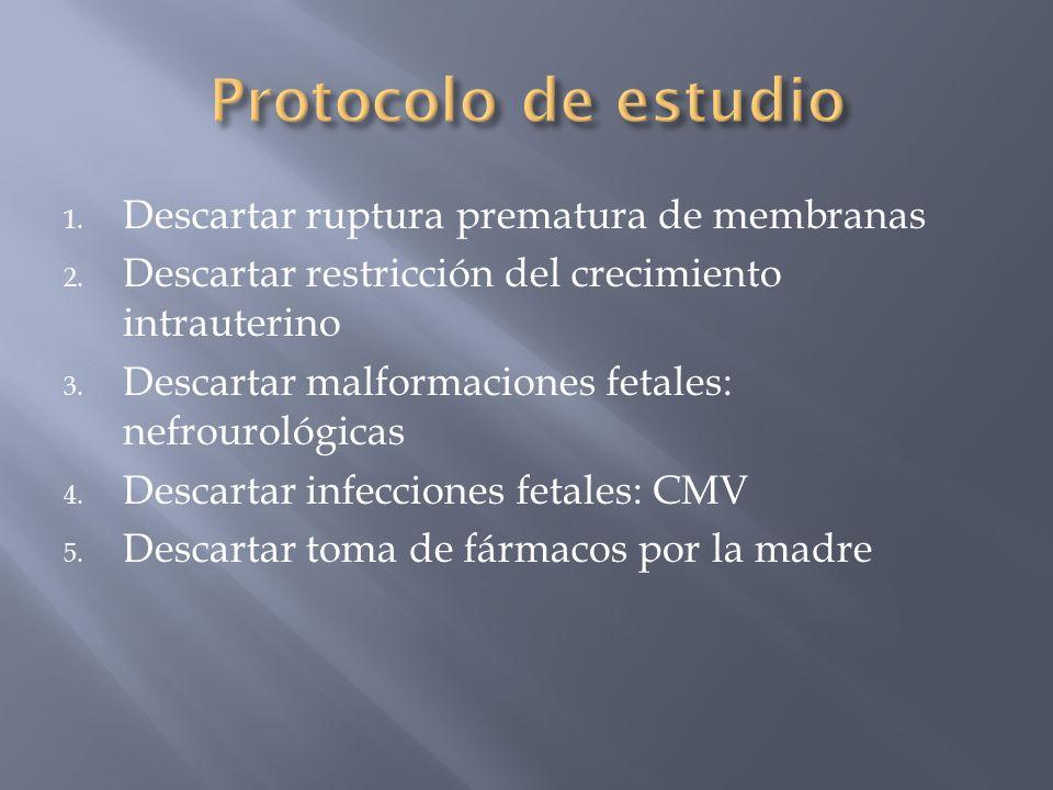 Protocolo de estudio Descartar ruptura prematura de membranas