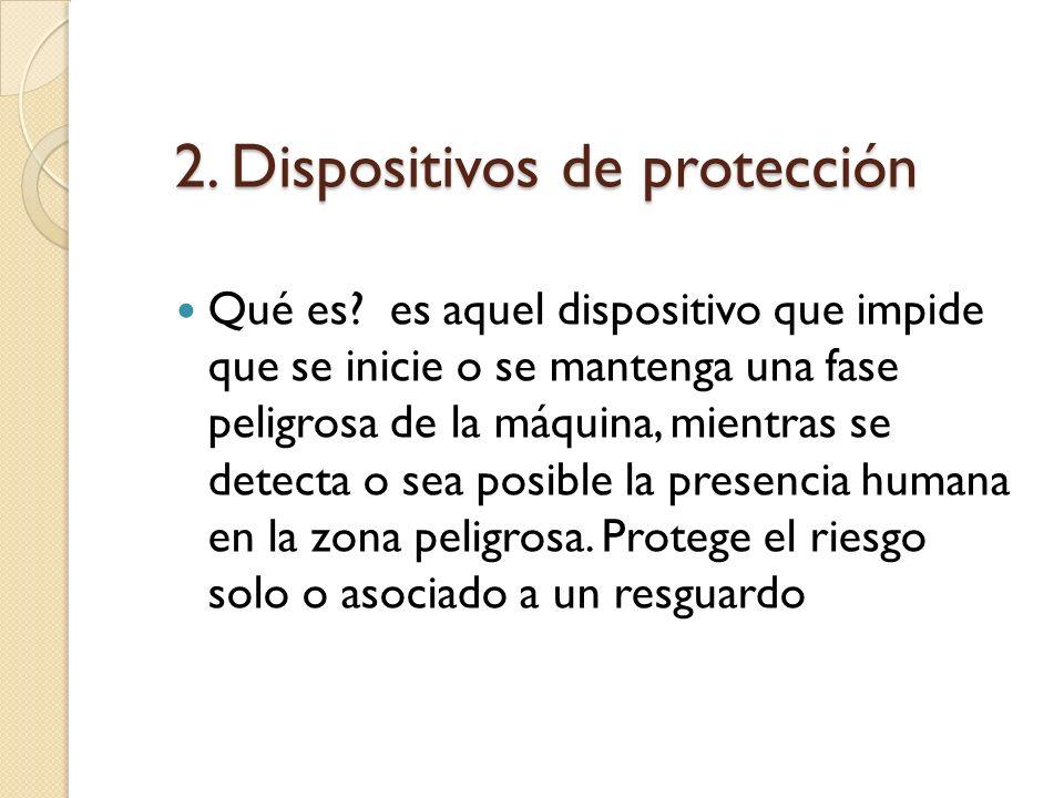 2. Dispositivos de protección