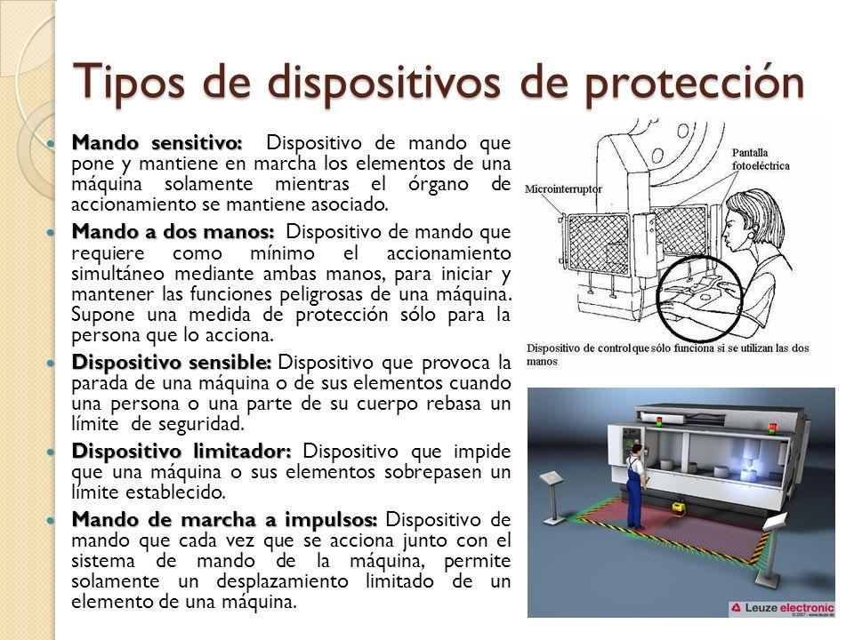 Tipos de dispositivos de protección