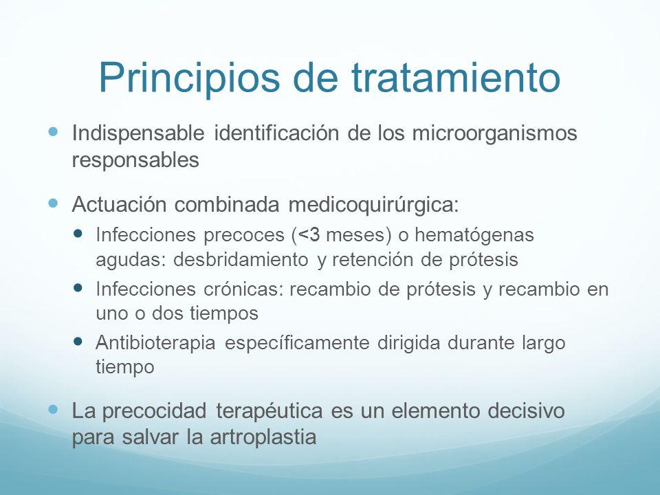 Principios de tratamiento
