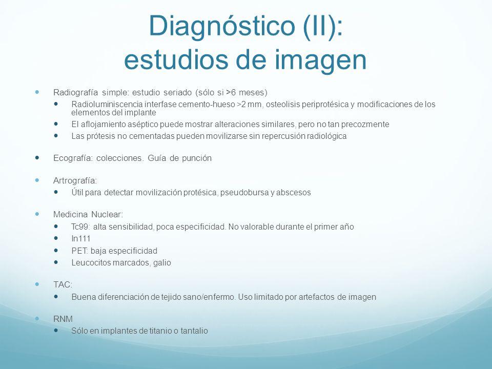 Diagnóstico (II): estudios de imagen