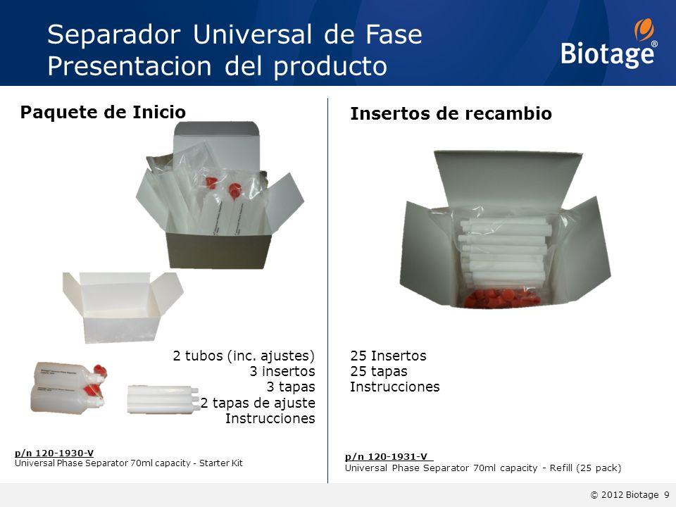 Separador Universal de Fase Presentacion del producto