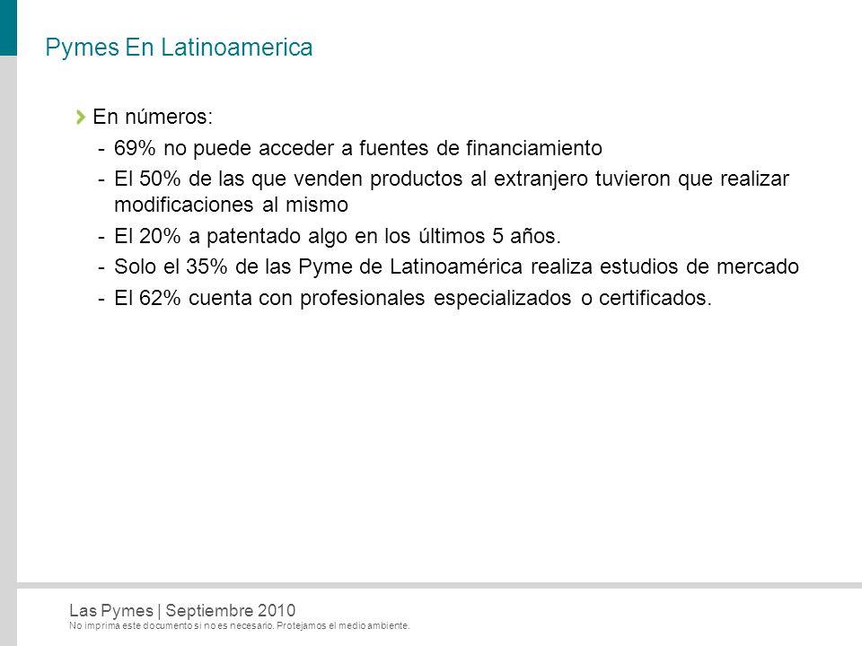 Pymes En Latinoamerica