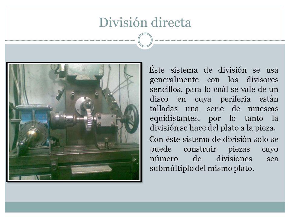 División directa