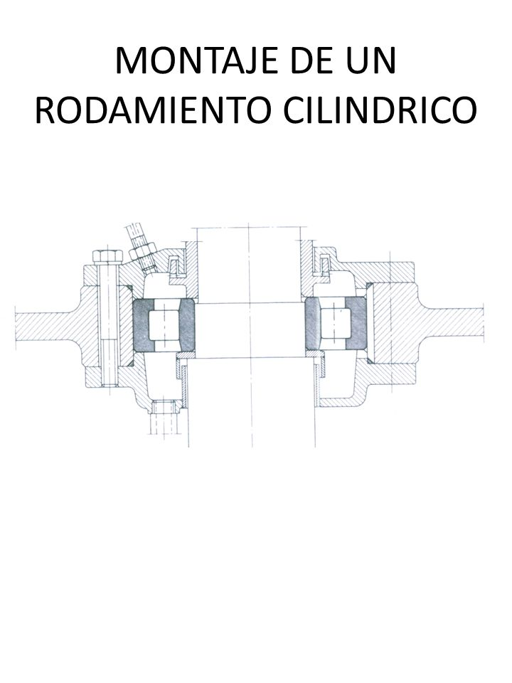 MONTAJE DE UN RODAMIENTO CILINDRICO
