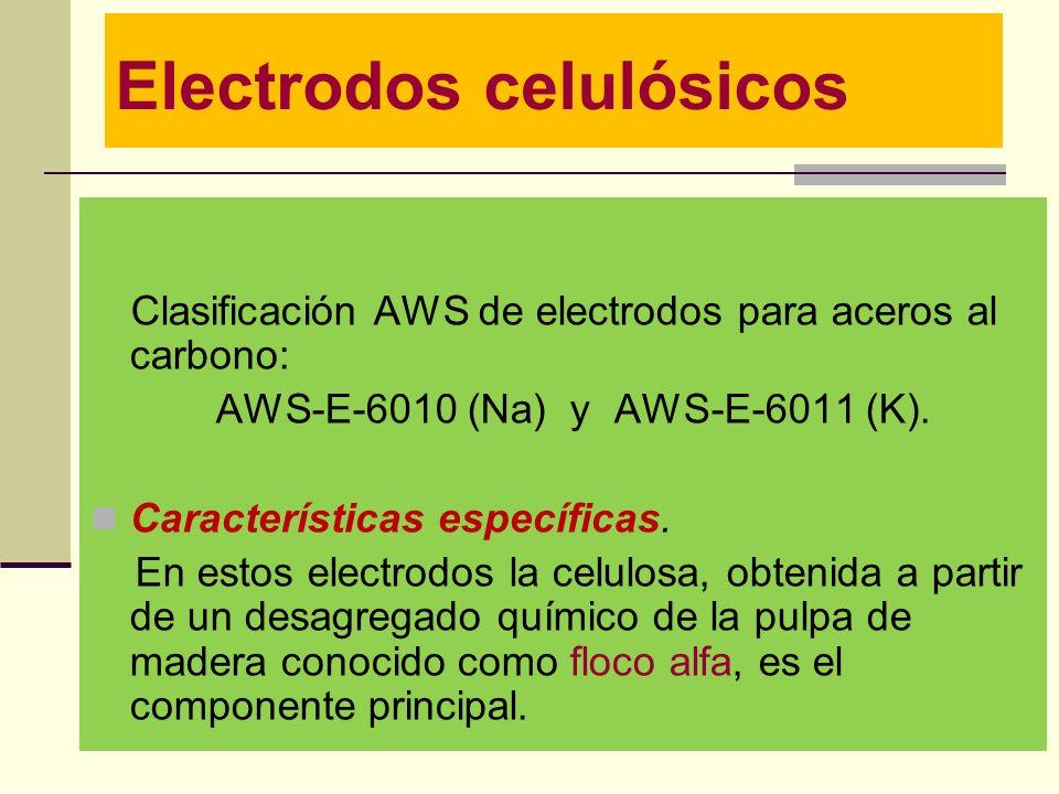 Electrodos celulósicos