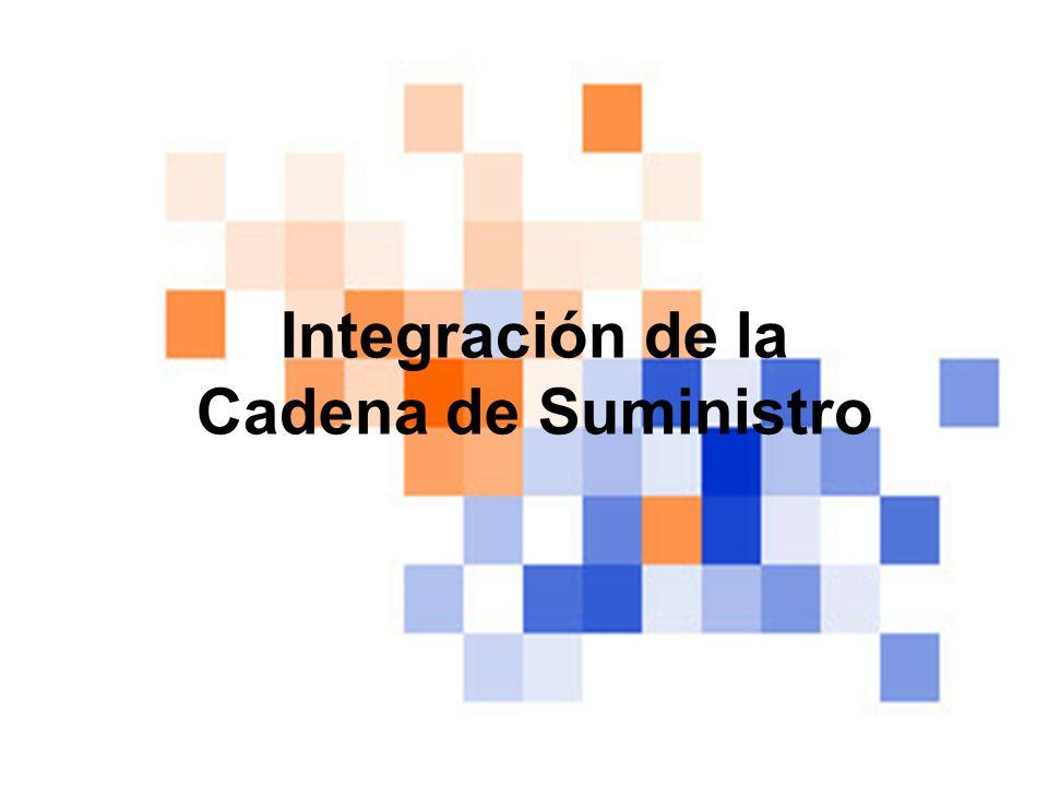 Integración de la Cadena de Suministro