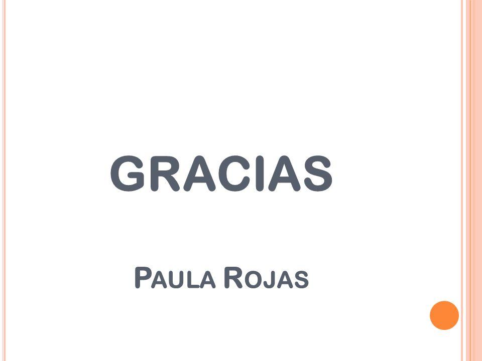 GRACIAS Paula Rojas
