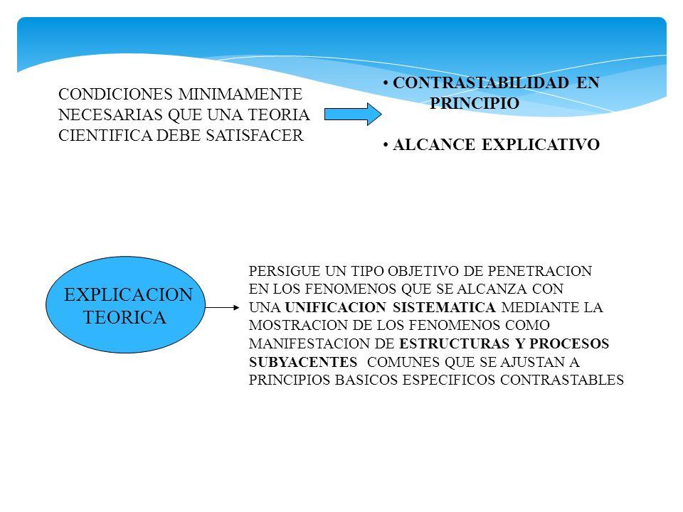 EXPLICACION TEORICA CONTRASTABILIDAD EN CONDICIONES MINIMAMENTE