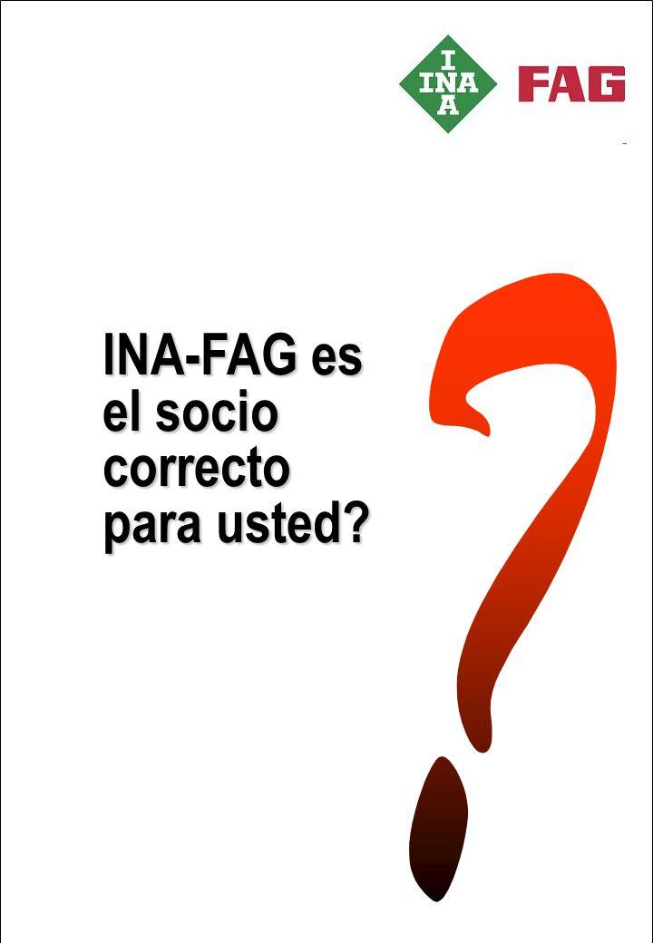 INA-FAG es el socio correcto para usted