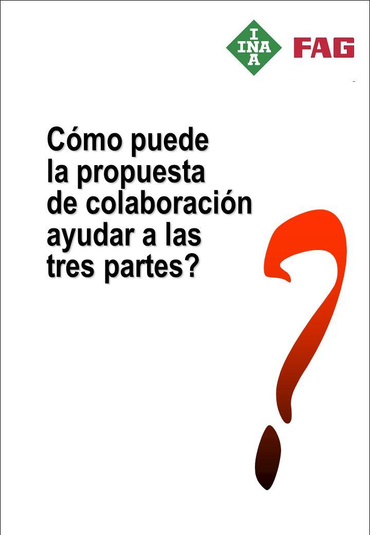Cómo puede la propuesta de colaboración ayudar a las tres partes