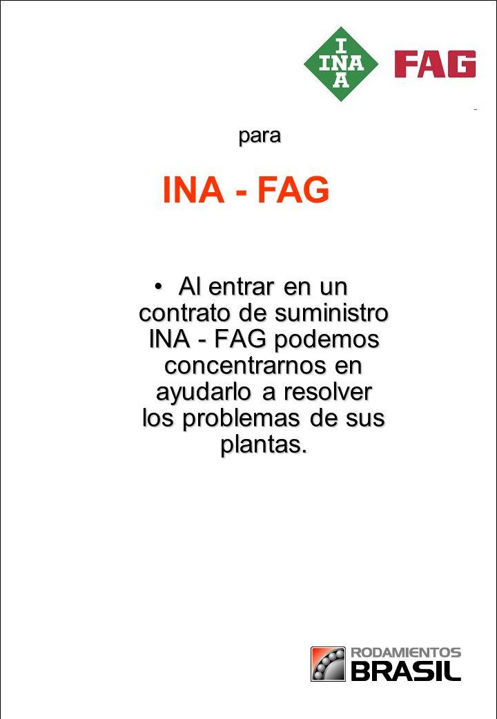 para INA - FAG.