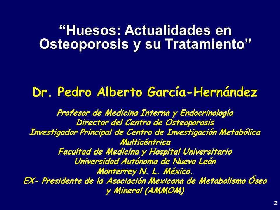Huesos: Actualidades en Osteoporosis y su Tratamiento