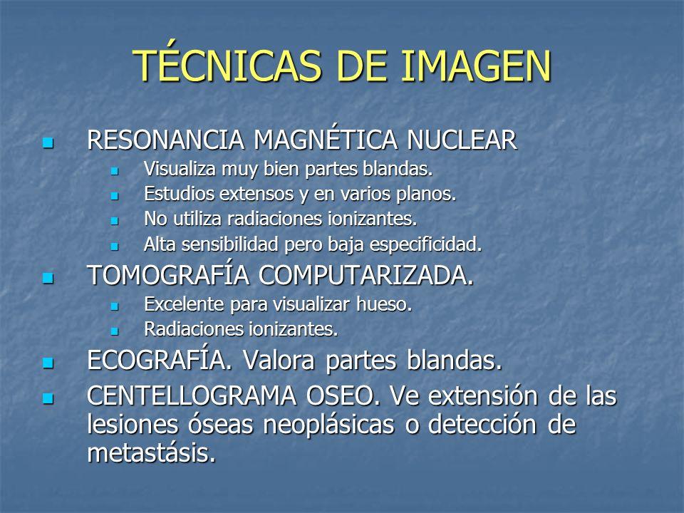TÉCNICAS DE IMAGEN RESONANCIA MAGNÉTICA NUCLEAR