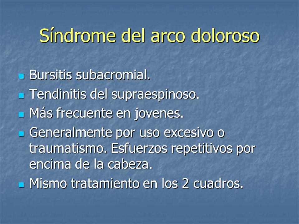 Síndrome del arco doloroso