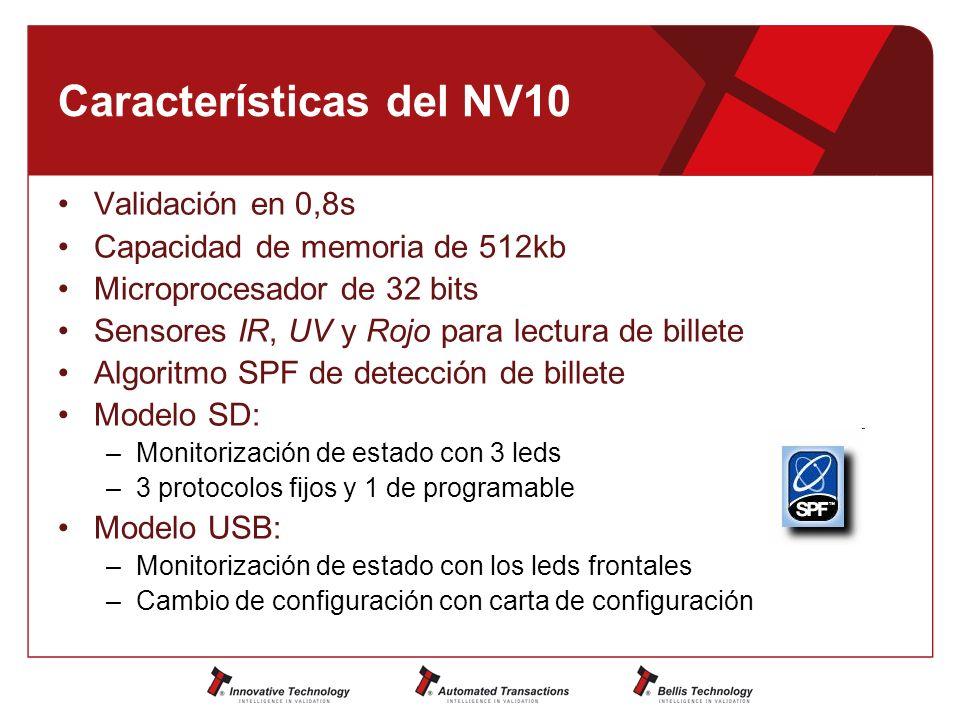 Características del NV10
