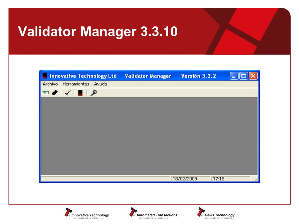 Validator Manager 3.3.10