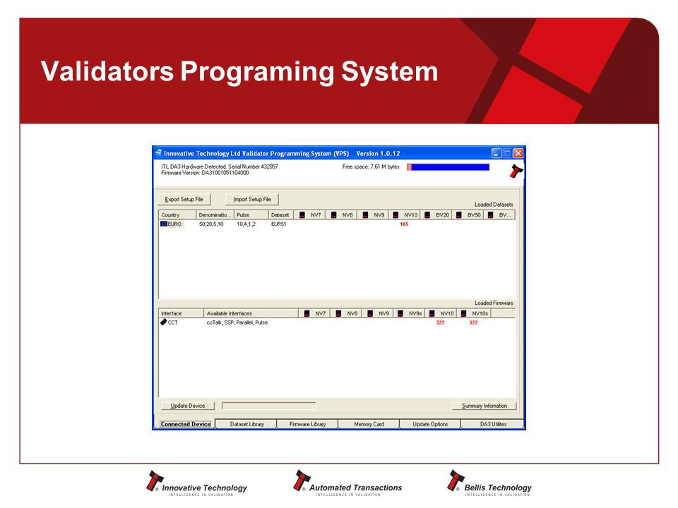 Validators Programing System