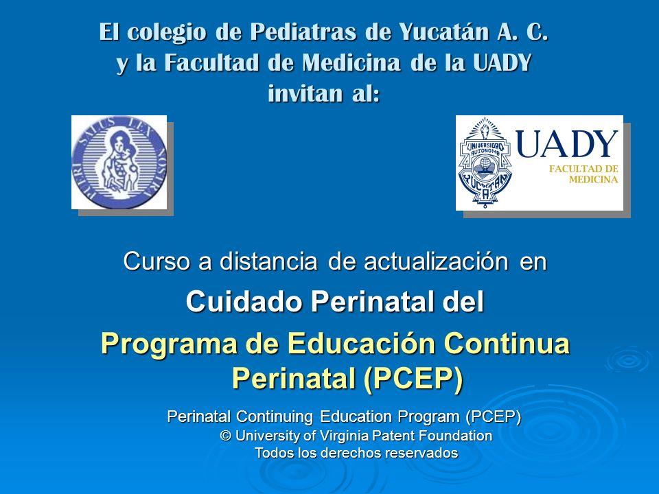Programa de Educación Continua Perinatal (PCEP)