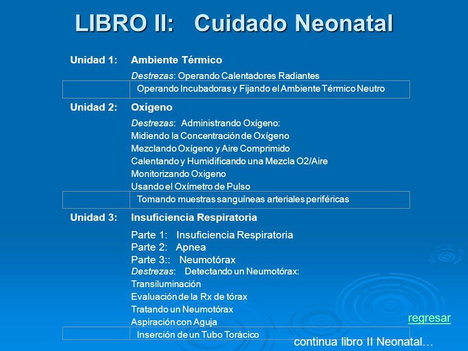 LIBRO II: Cuidado Neonatal