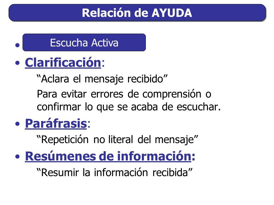Resúmenes de información: