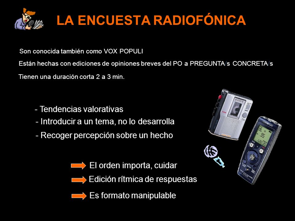 LA ENCUESTA RADIOFÓNICA