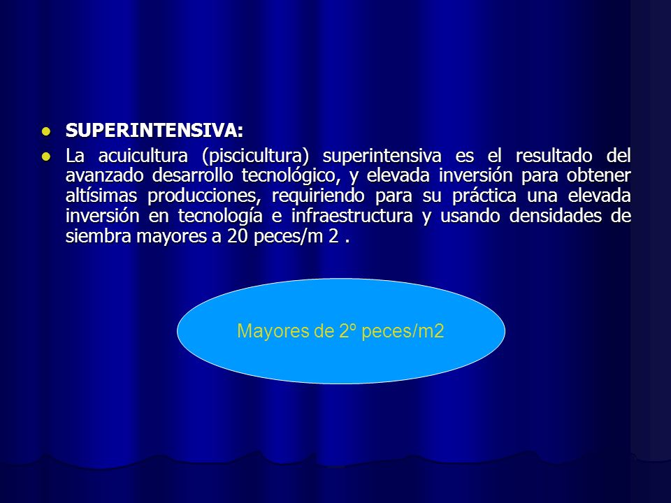 SUPERINTENSIVA: