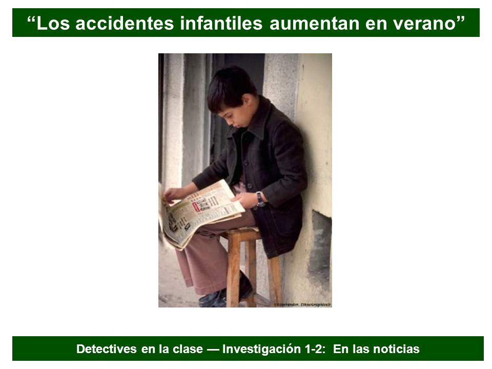 Los accidentes infantiles aumentan en verano