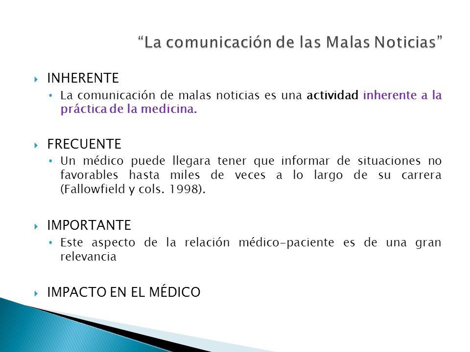 La comunicación de las Malas Noticias