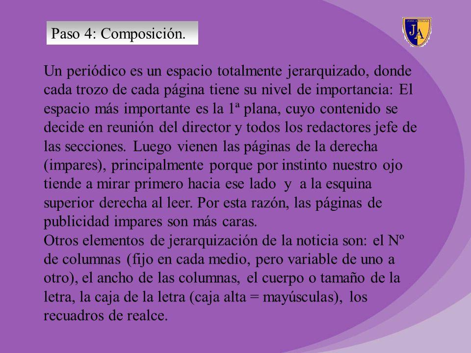 Paso 4: Composición.