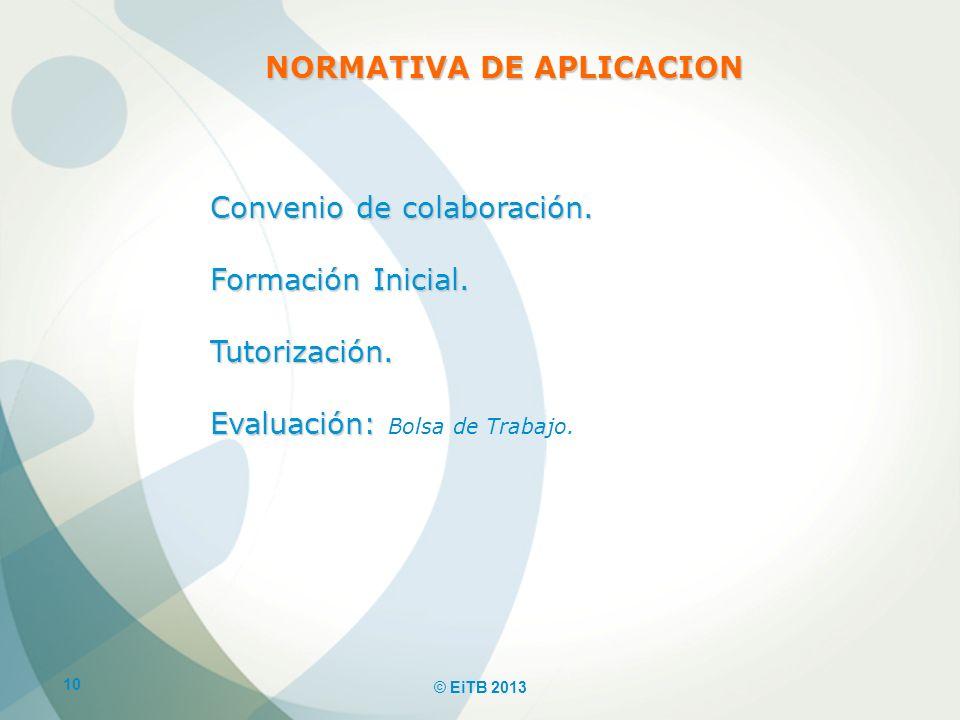 NORMATIVA DE APLICACION