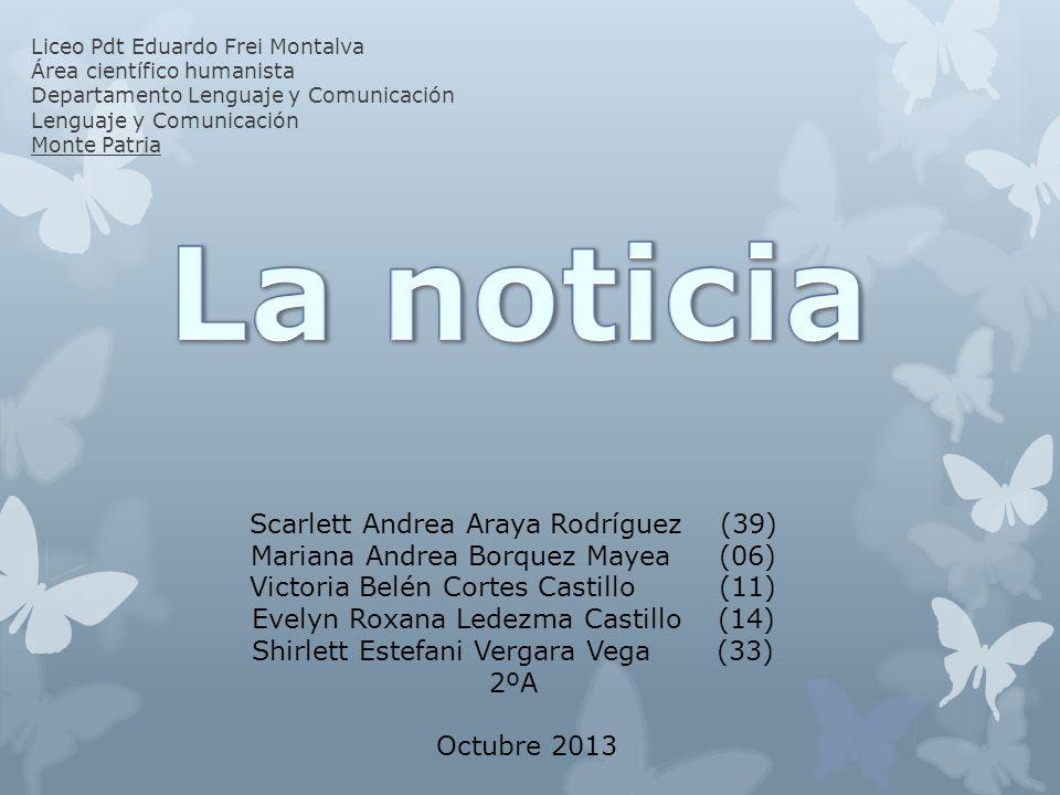 La noticia Scarlett Andrea Araya Rodríguez (39)