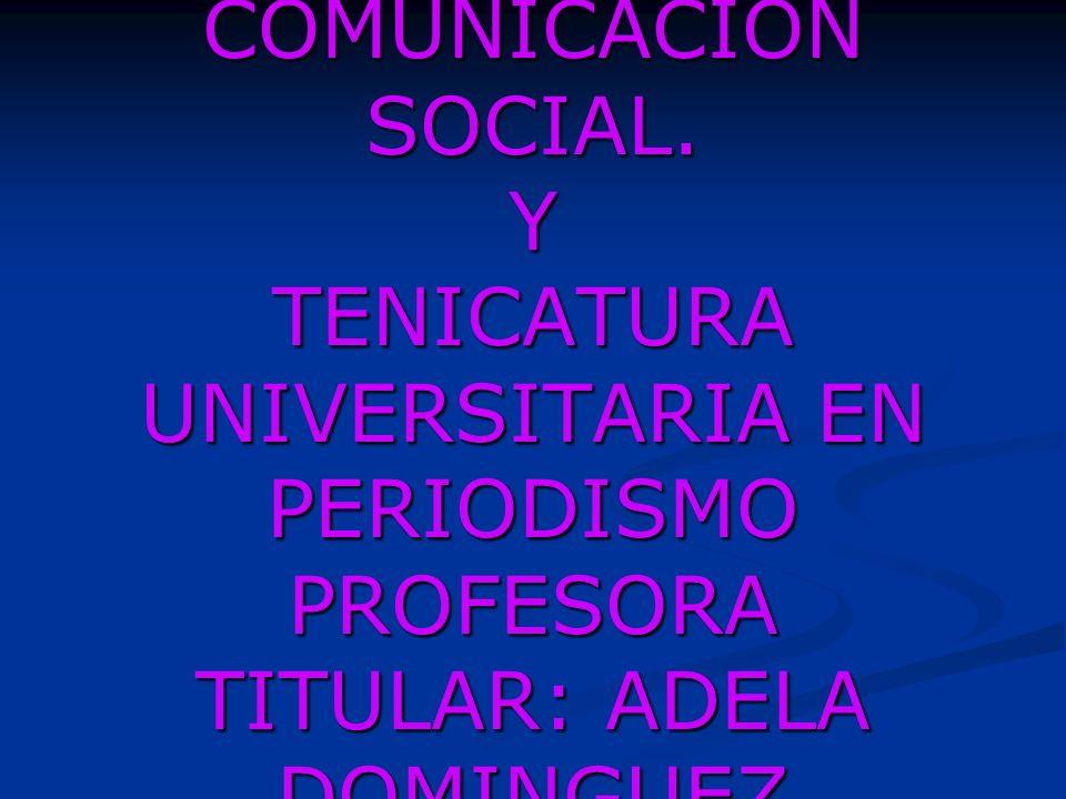CLASE 5 RADIO I LICENCIATURA EN COMUNICACIÓN SOCIAL