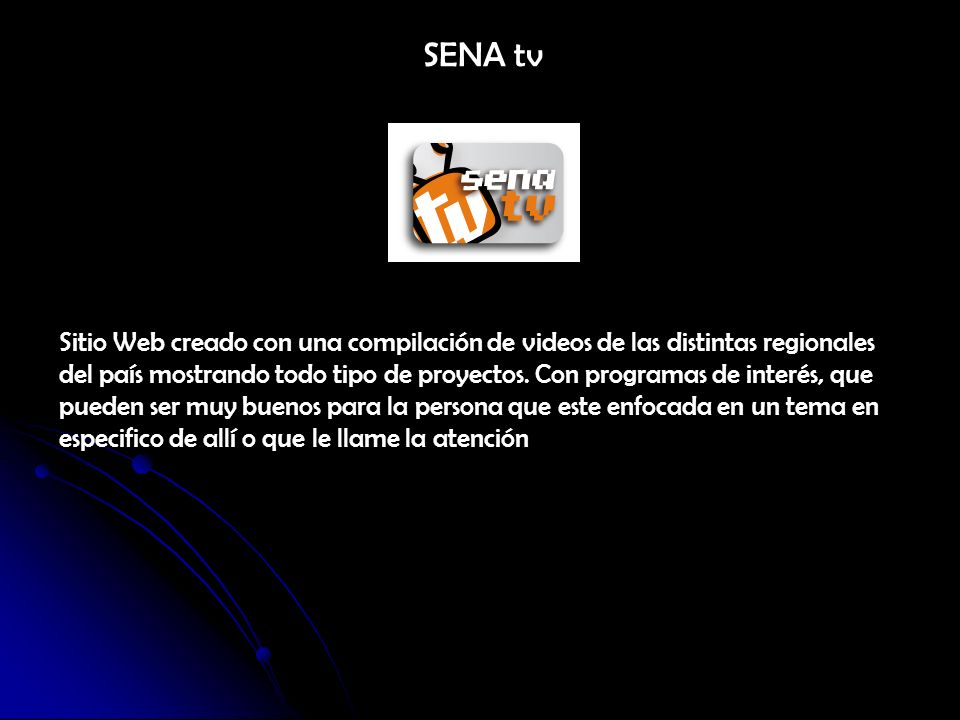 SENA tv