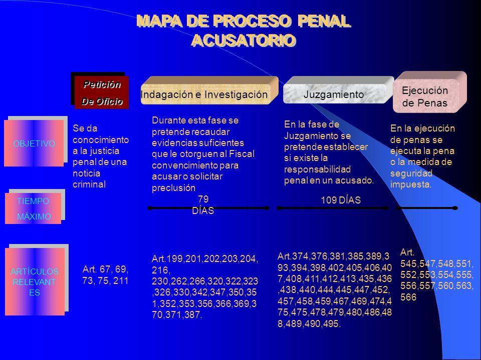 MAPA DE PROCESO PENAL ACUSATORIO