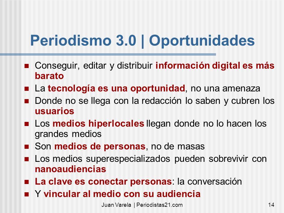 Periodismo 3.0 | Oportunidades