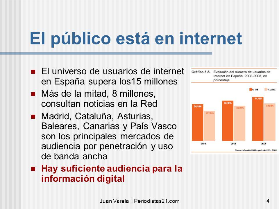 El público está en internet