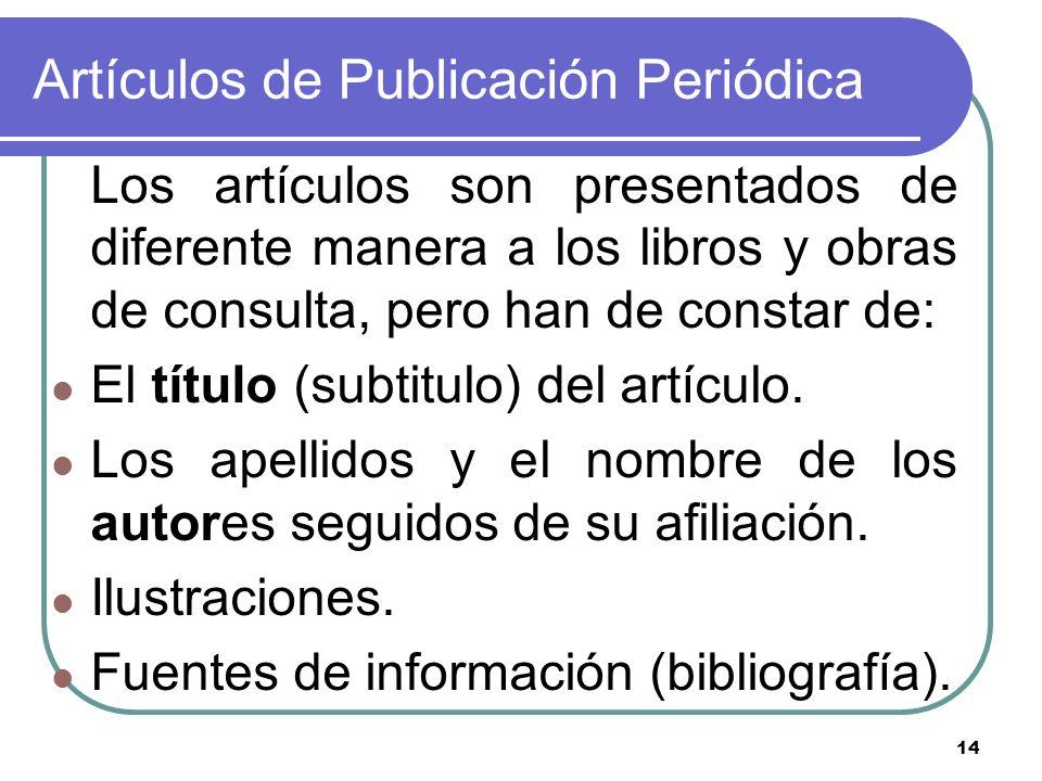 Artículos de Publicación Periódica