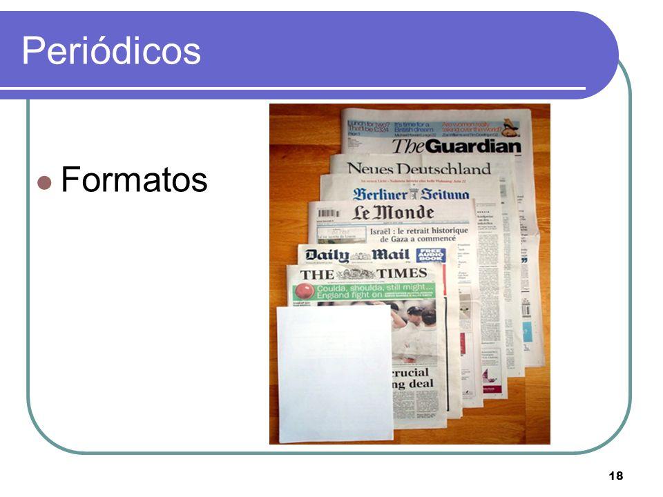 Periódicos Formatos