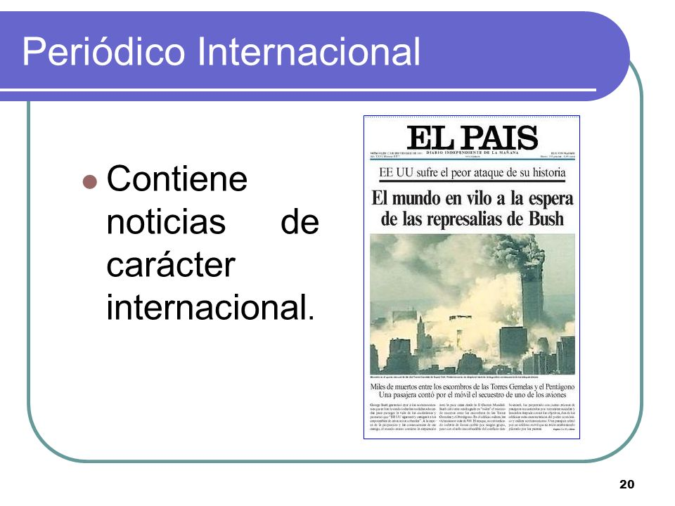 Periódico Internacional
