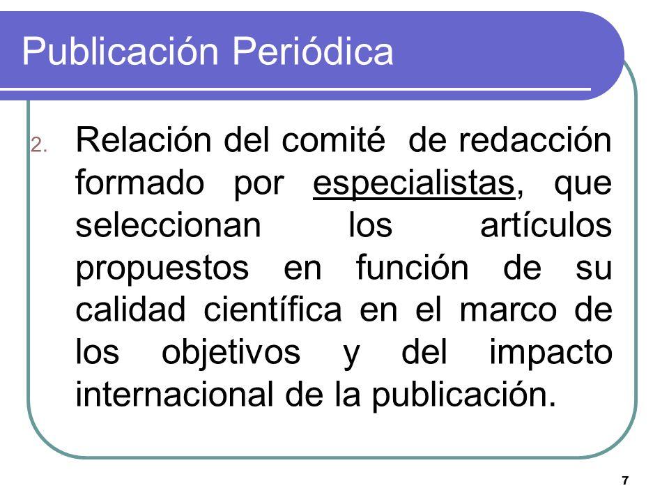Publicación Periódica