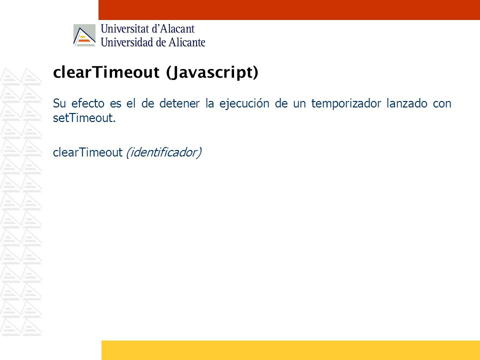 clearTimeout (Javascript)